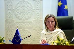 Portrait der EU-Kommissarin Federica Mogherini