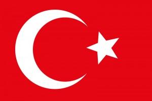 Staatsflagge der Türkei.