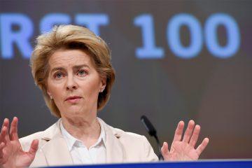 Ursula von der Leyen ist 100 Tage im Amt.