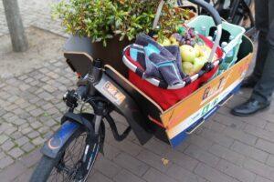 Lastenrad Gustaf fährt im Kreis Gütersloh.